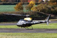 ZJ243 DHFS Aerospatiale AS350BB Squirrel HT.2 c/n 2945