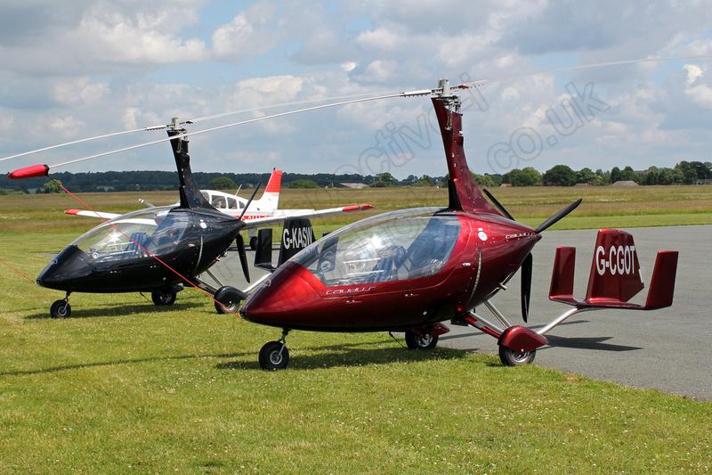 Wolverhampton Halfpenny Green Airport Photos: Autogyros &emdash; G-CGOT Rotorsport UK Calidus