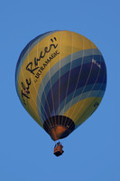 Ultramagic M-65C Balloon EC-LIR flying close to Halfpenny Green Airfield.