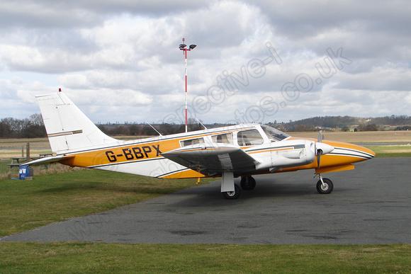 Wolverhampton Halfpenny Green Airport Photos: Twins &emdash; G-BBPX Piper PA-34-200 Seneca II  c/n 34-7250262