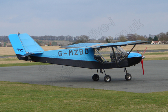 G-MZBD Rans S6-ESD XL Coyote II