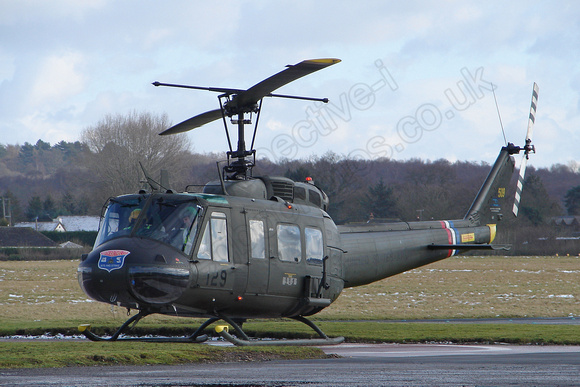 G-UHIH / 72-21509 '129' Bell UH-1H Iroquois c/n 13208