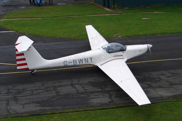 G-BWNY is an example of the AMT-200 Super Ximango Brazilian motor glider developed from the AMT-100 Ximango